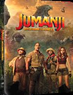 Blu-Ray Jumanji + Jumanji - Bem-Vindo A Selva - Steelbook - 2 Discos