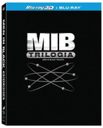 Mib - Homens de Preto - Trilogia - Blu-Ray 3D + 3 Blu-Ray