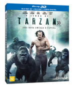 A Lenda de Tarzan - Blu-Ray 3D - 2 Discos