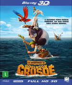 As Aventuras de Robison Crusoé - Blu-Ray 3D