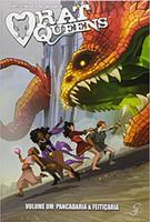 Rat Queens - Volume 1. Coleção Pancadaria & Feitiçaria