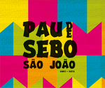 Pau de Sebo - Pau de Sebo São João - Box Com 5 CDs
