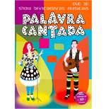 Palavra Cantada - Brincadeiras Musicais 3D (DVD) DVD 3D + 2D + 1 óculos