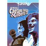 Dvd - Karaoke Melhor De Caetano Veloso Gilberto Gil