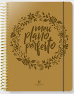 Meu Plano Perfeito - Capa PU (Português) Espiral