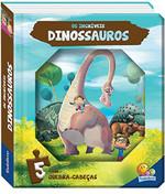 Minha aventura em quebra-cabeças: Os dinossauros (Português) Livro cartonado
