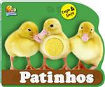Animais bebês - toque e sinta: patinhos (Português) Livro cartonado
