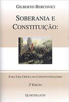 Soberania e Constituição. Para Uma Crítica do Constitucionalismo (Português)