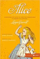 Alice - Coleção Clássicos Zahar - Comentada e Ilustrada: Aventuras de Alice no País das Maravilhas & Através do Espelho e o que Alice encontrou por lá (Português)