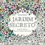 Jardim Secreto - Livro de Colorir e Caça ao Tesouro