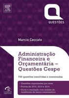 Administração Financeira e Orçamentária - Afo - Questões Cespe