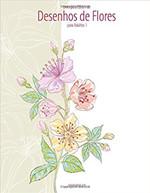 Livro Para Colorir de Desenhos de Flores Para Adultos 1