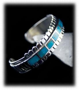 Inlay Turquoise Jewelry