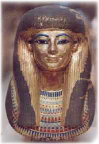 Egyptian Turquoise Mask
