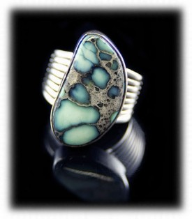 Silver Turquoise Rings