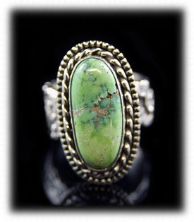 Carico Lake Turquoise Ring in Silver