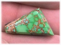 Lime Turquoise from Carico Lake Mine