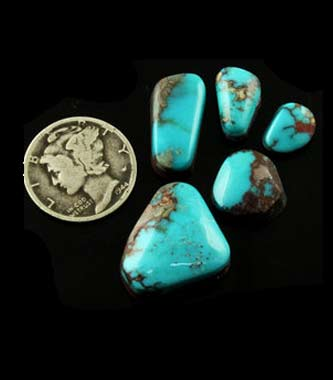 Nevada Turquoise Mines from A-C