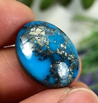 High Grade Ithaca Peak Turquoise from Kingman, Arizona