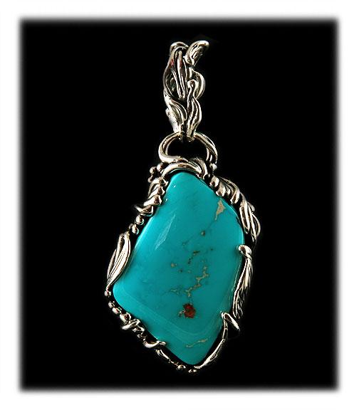 Blue Turquoise Pendants