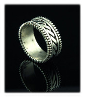 Heavy Duty Silver Band Ring