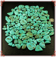 McGinnis Turquoise Cabochon Lot