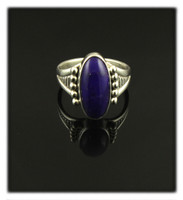 Petite Sugilite and Silver Ring for Women