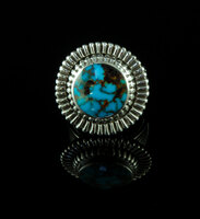 Blue Egyptian Turquoise Ring