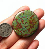 53 carats Look Out Mountain Turquoise Cabochon