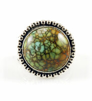 Candelaria Hills Variscite and Sterling Silver Ring