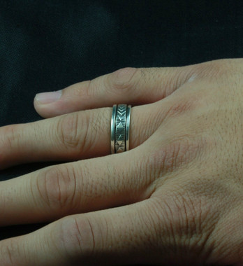 Sterling Silver Band Rings