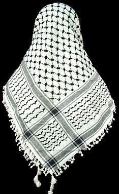 Palestinian Arafat Shemagh Scarf