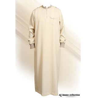 10 Saudi Cream Arabic Thobes