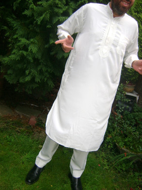 Afghan Mens 2 Piece Set dress Salwar Kameez