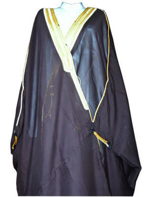 Bisht traditional Arabic men's cloak --- Available in 5 Colours