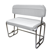 Wise Swingback Seat Frame for 72 & 94-qt coolers in Cuddy Brite White