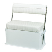 Wise Livewell 15.5-gal Cooler seat in Cuddy Brite White