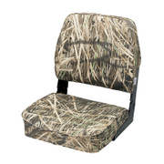 Wise Low Back Camouflage Fishing seat in Mossy Oak Shadow Grass