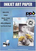 PPD Inkjet Watercolor Matte Giclee Paper 60lb (240gsm) 11 x 17""