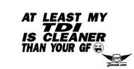 TDI GF Sticker Decal