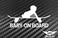 Jdm Baby On Board 2 Sticker