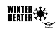 Winter Beater Sticker Decal