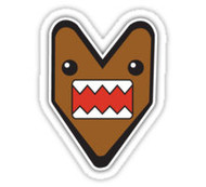 Jdm Domo Wakaba Sticker Decal