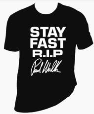 Stay Fast Rip Paul Walker  T Shirt