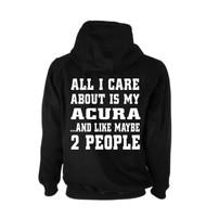 Acura Jdm Tuner Hoodie (Back)
