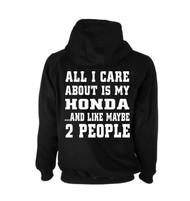 Honda Jdm Tuner Hoodie (Back)
