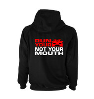 Run Your Car Hoodie (Back)