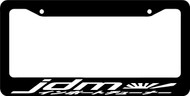 Jdm License Plate Frames