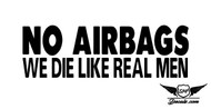 No Airbags Sticker