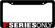 F Series License Plate Frame